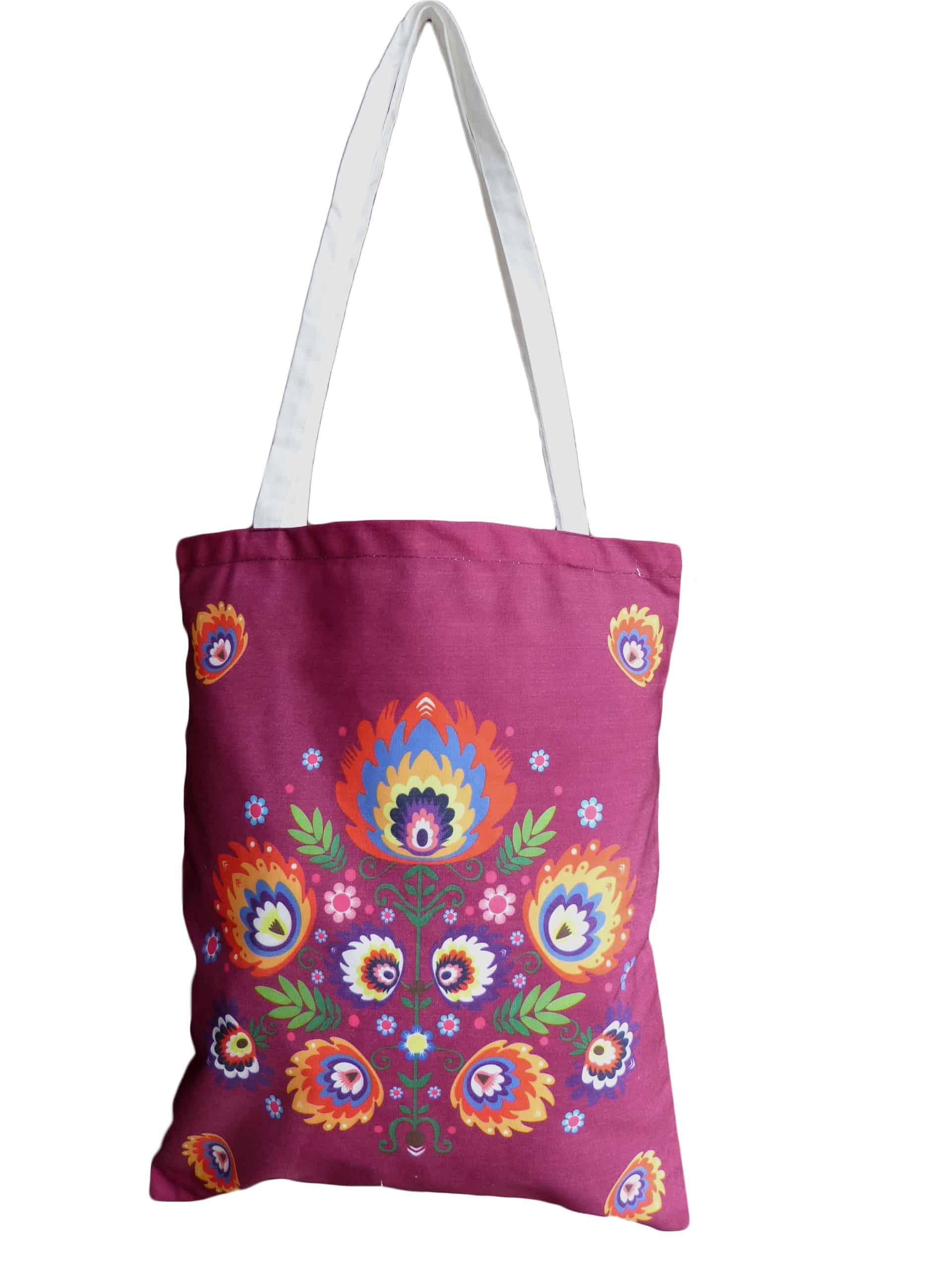 fd1edf2a08588 ZIK wygodna torba na zakupy na ramię FOLK2 - ZIK