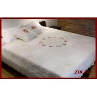 Narzuty Na łóżka Szydełkowe Bawełniane Patchwork Zik